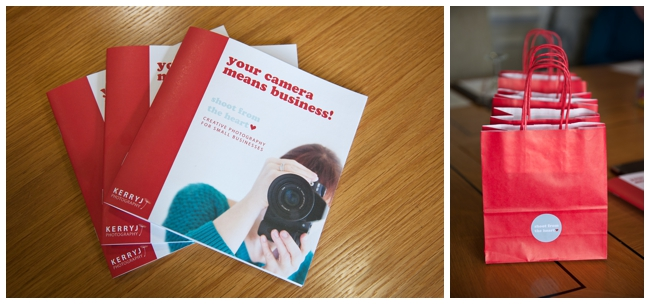Business photography workshop resources