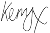 KERRY HARRISON signature